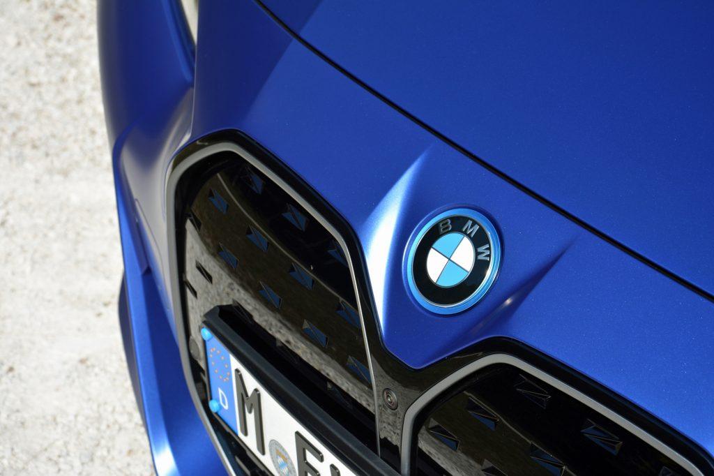2022 BMW i4 M50 emblem