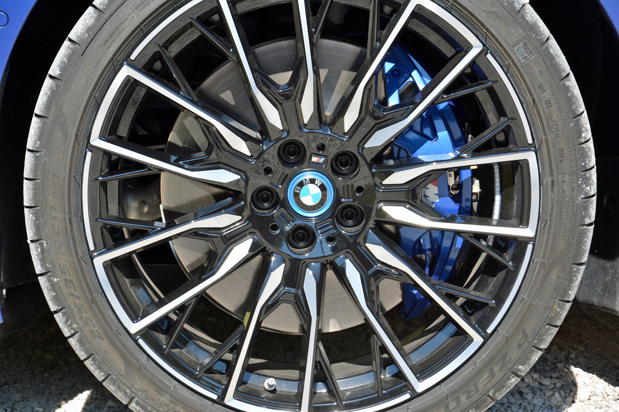 2022 BMW i4 M50 wheel and tire