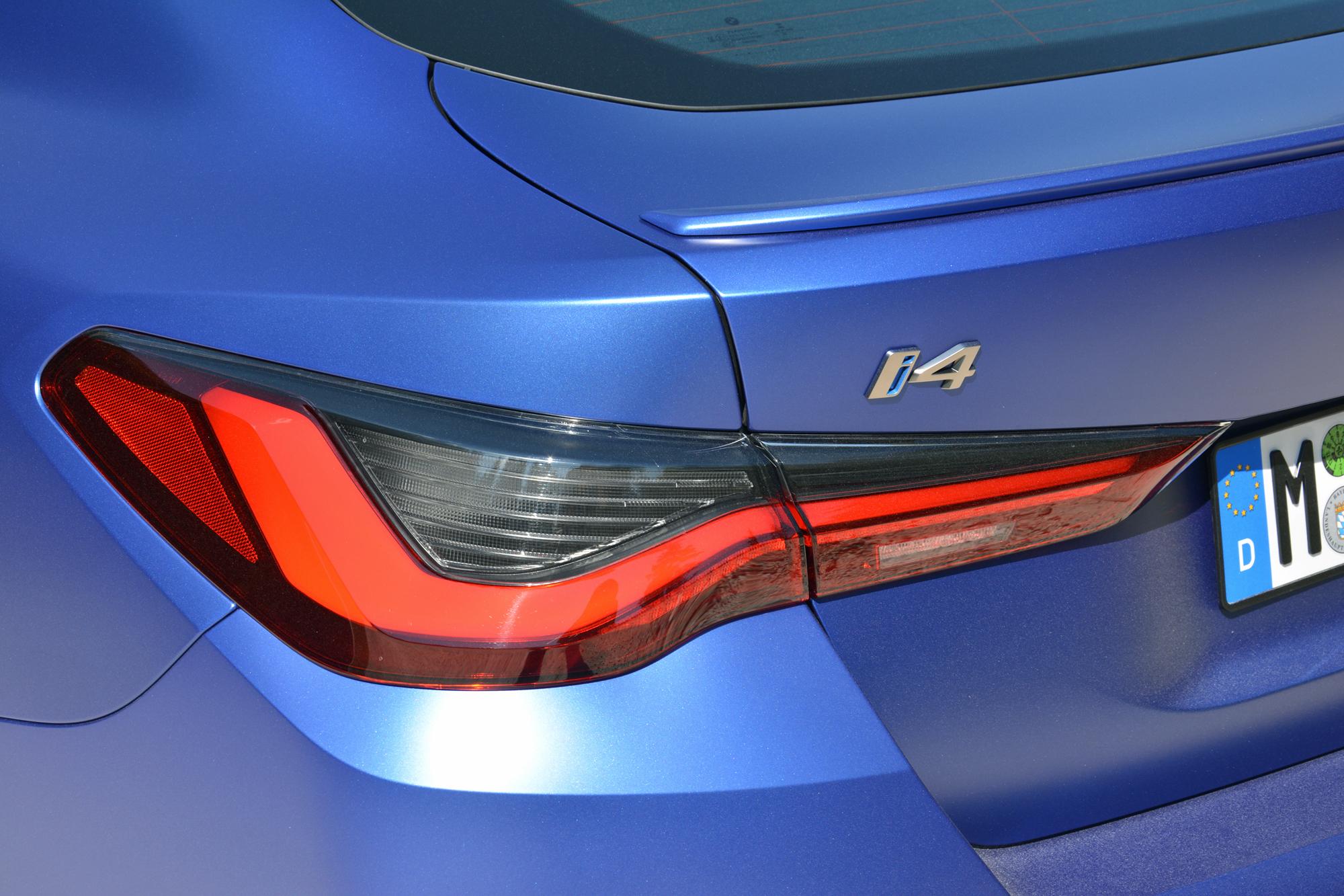 2022 BMW i4 M50 taillight
