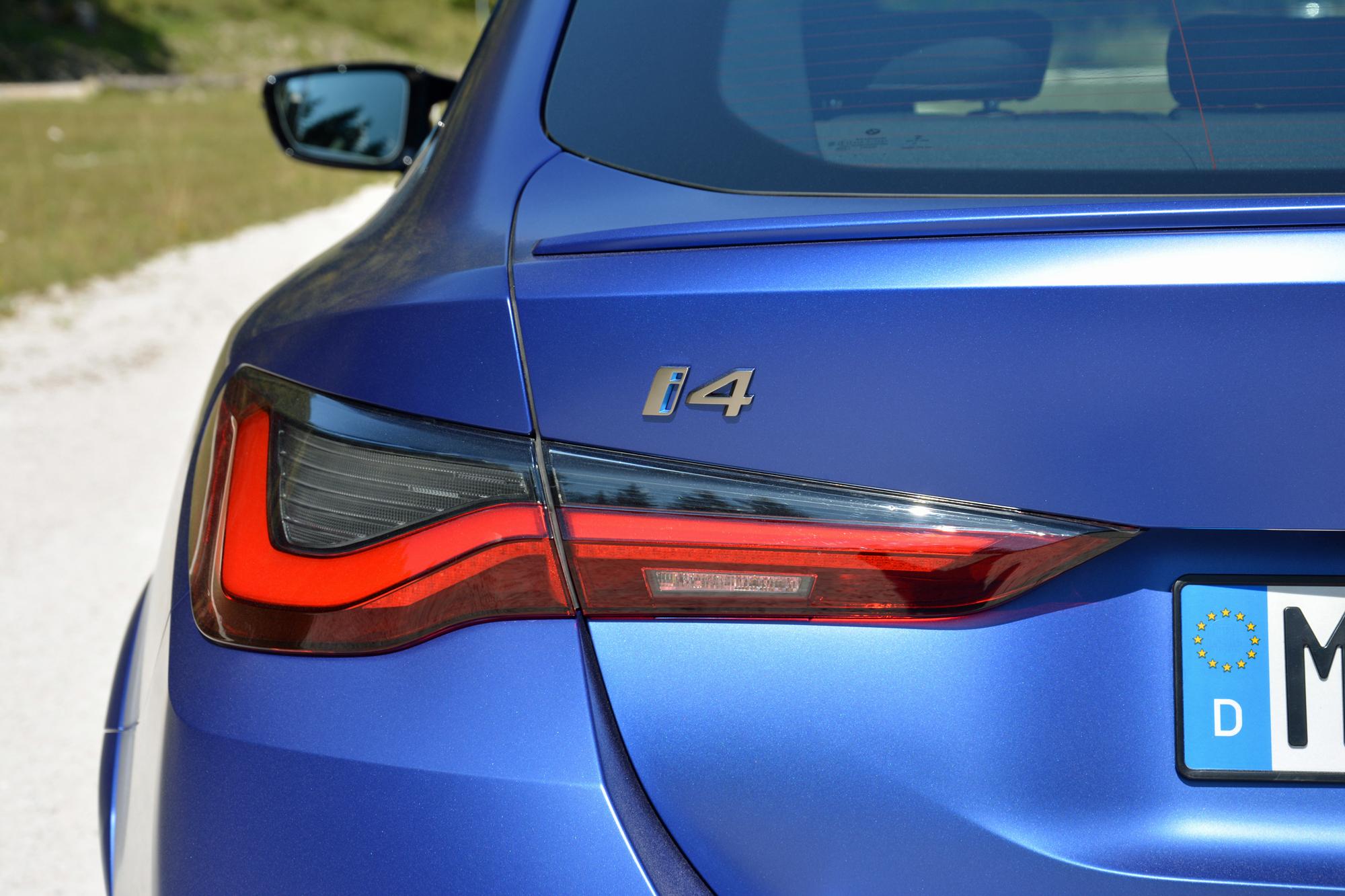 2022 BMW i4 M50 rear left close