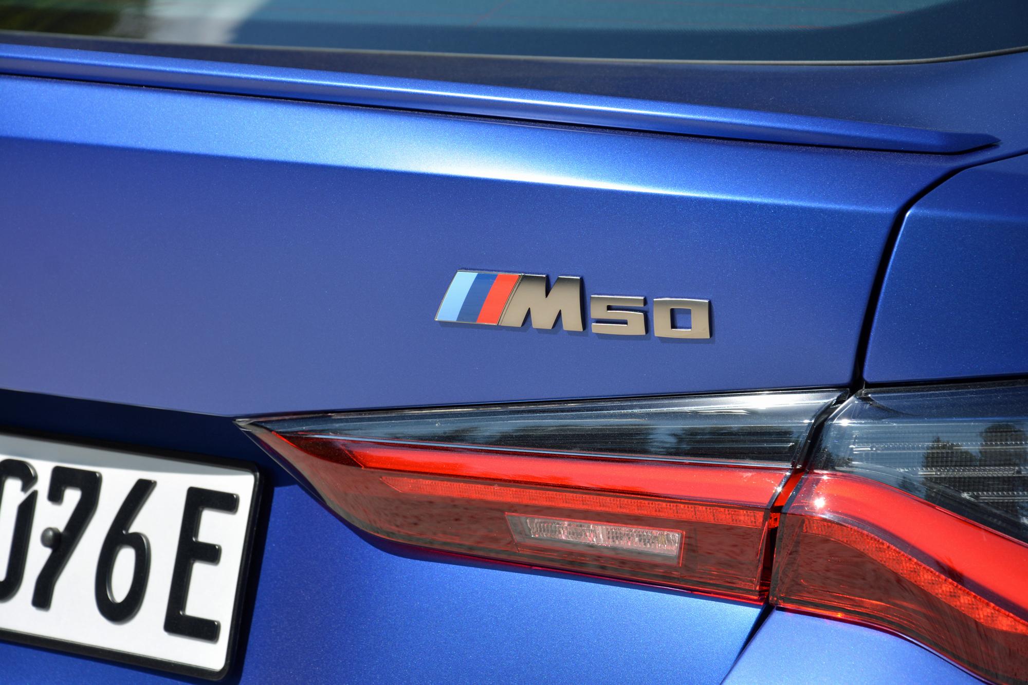 2022 BMW i4 M50 rear right close