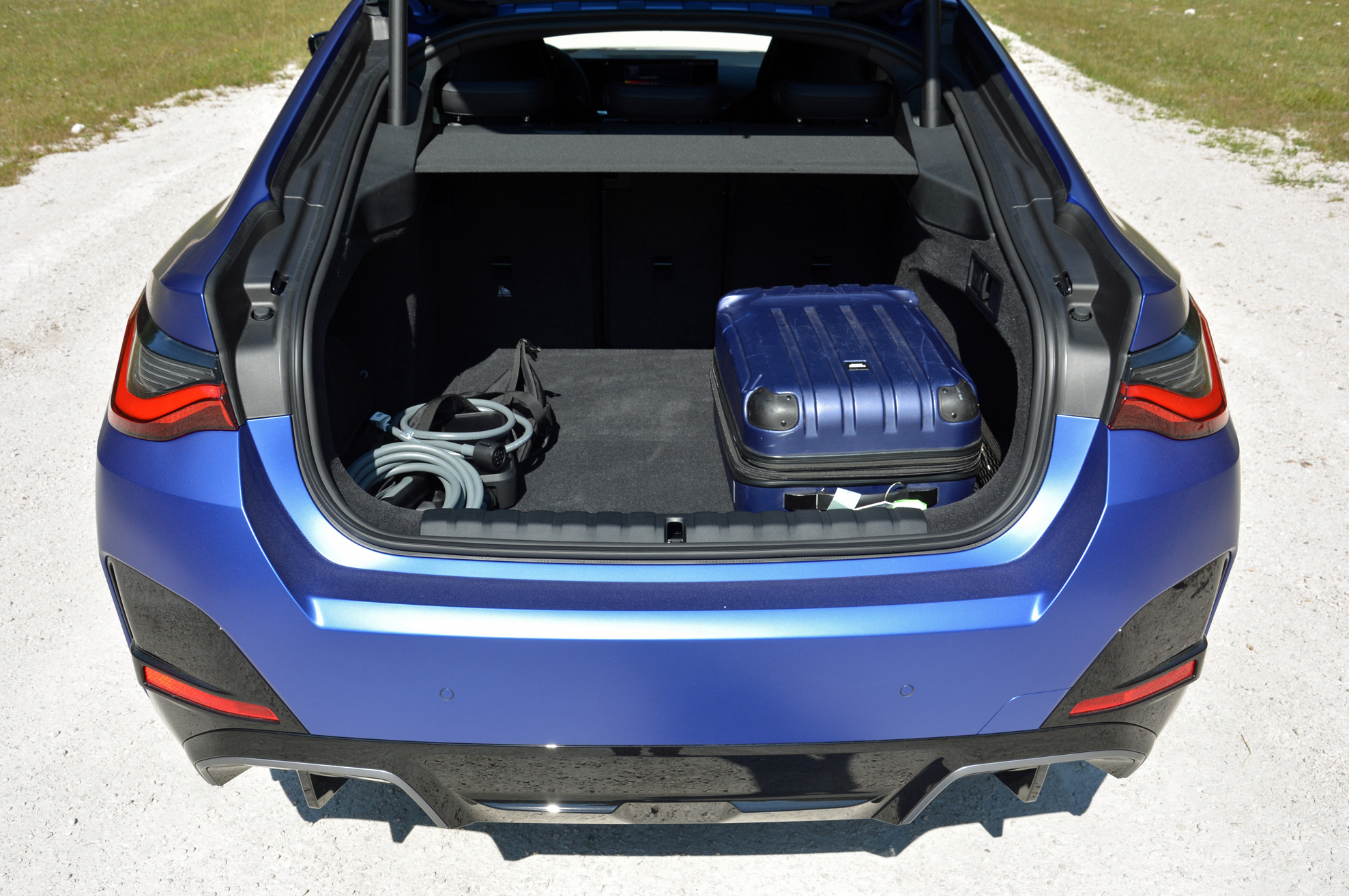 2022 BMW i4 M50 trunk
