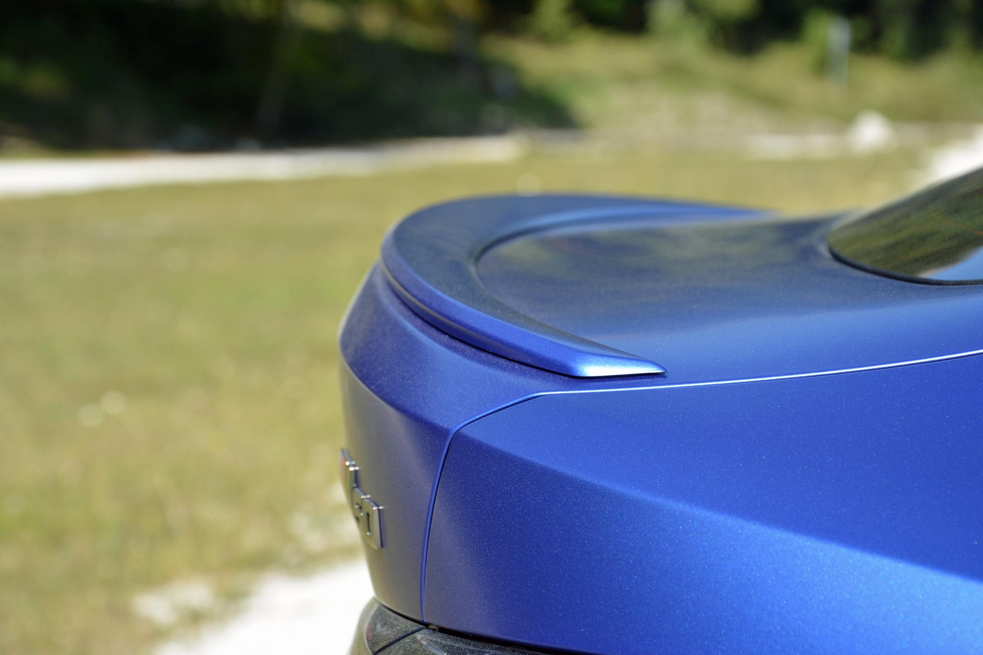 2022 BMW i4 M50 spoiler lip