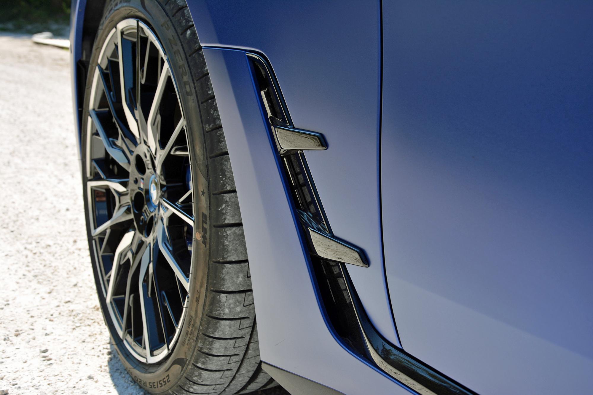 2022 BMW i4 M50 aerodynamics