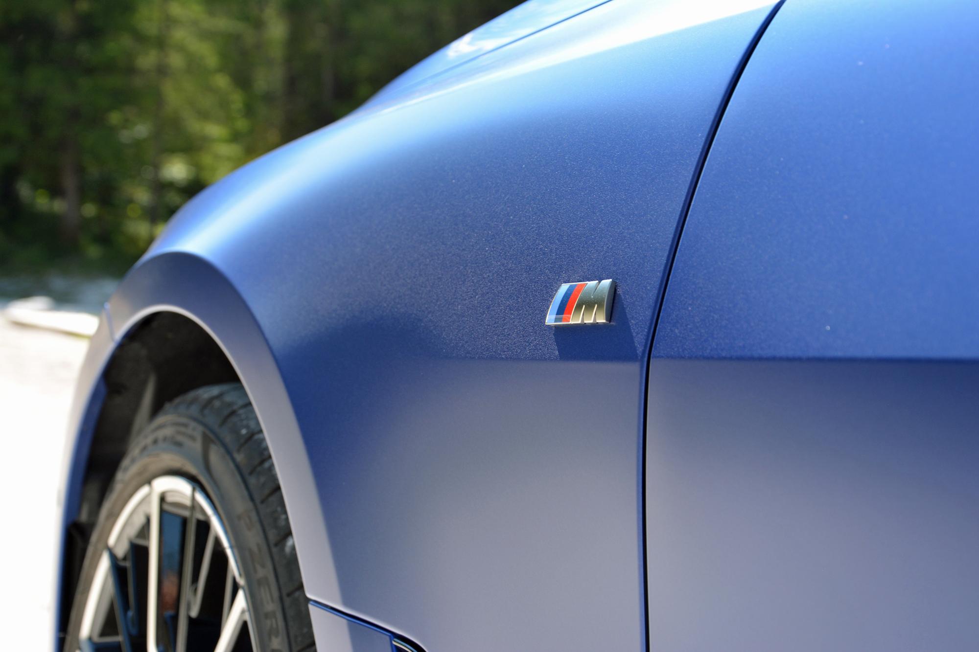 2022 BMW i4 M50 badge