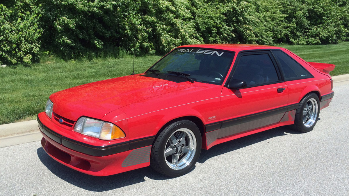1989 Ford Mustang Saleen Fastback