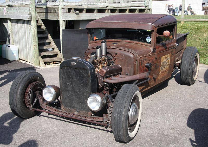 Ford Model A truck Rat rod