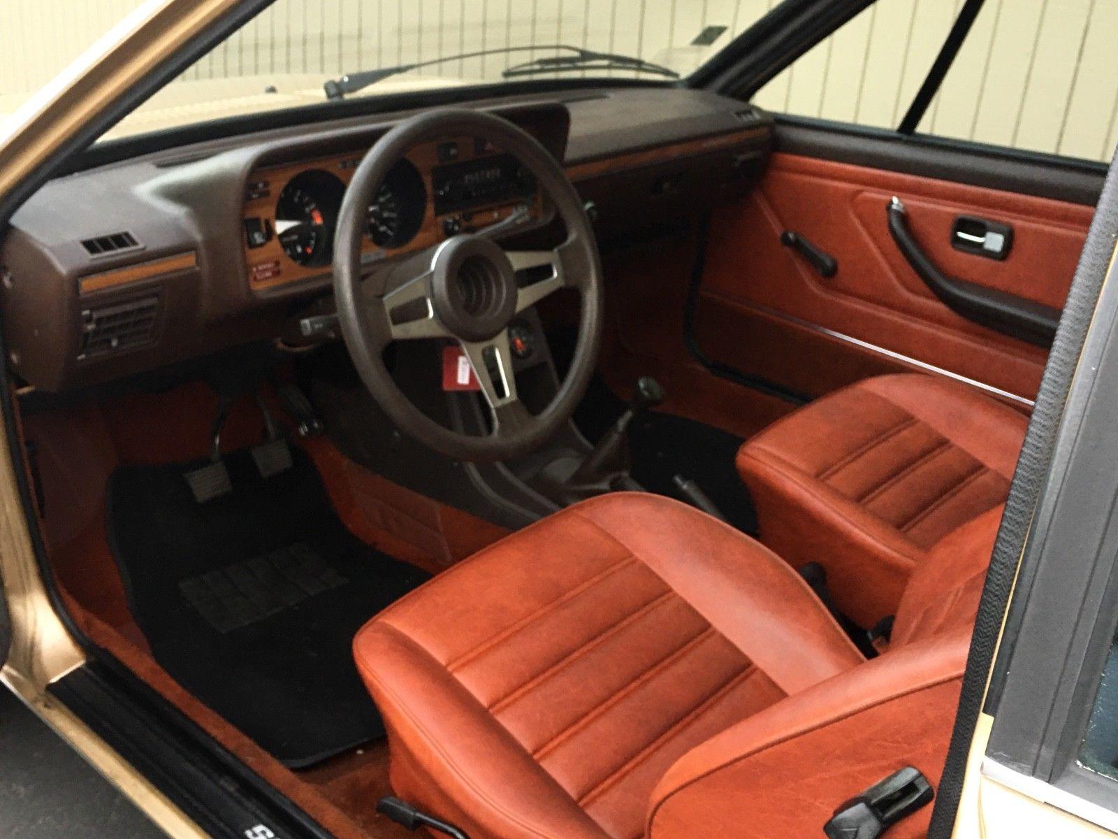1978 Volkswagen Scirocco interior