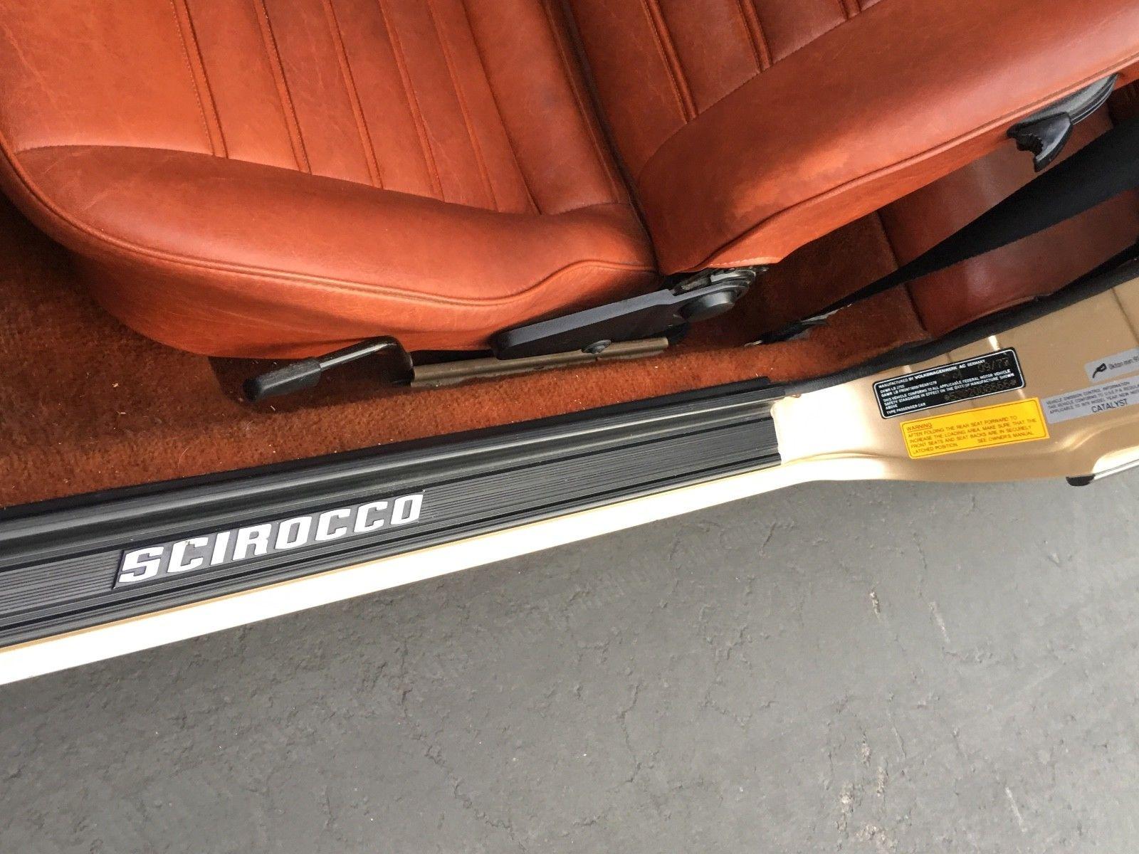 1978 Volkswagen Scirocco door sill
