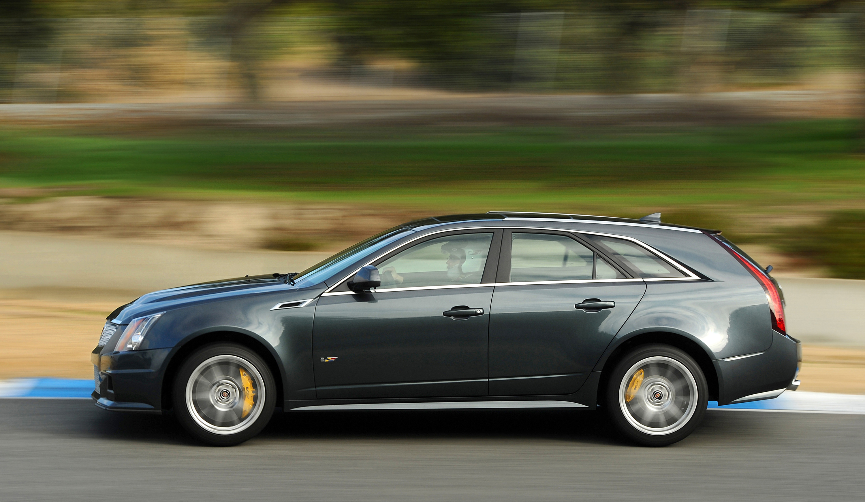 2014 Cadillac CTS-V Wagon profile