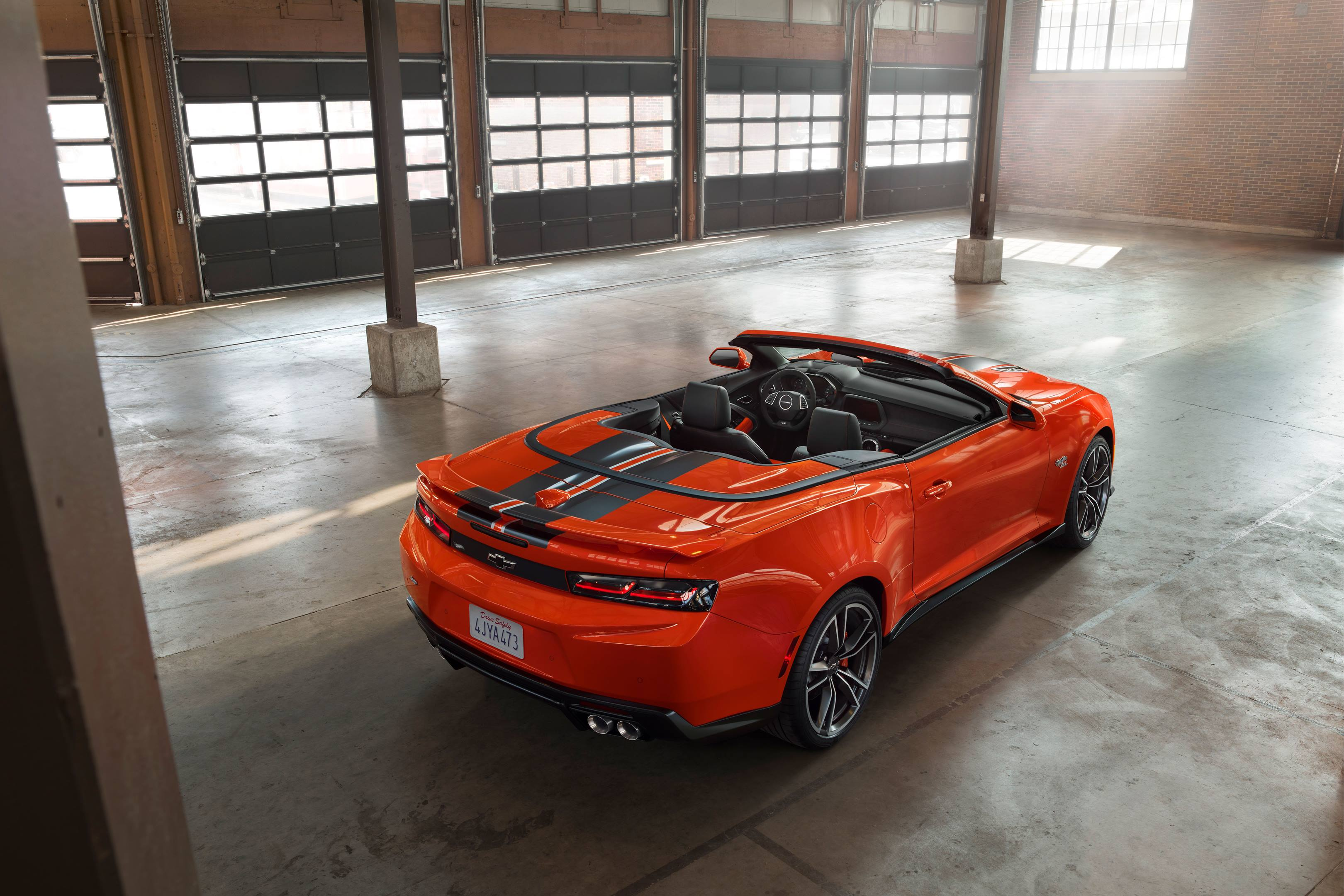 2017 SEMA Chevrolet Hot Wheels Camaro overhead