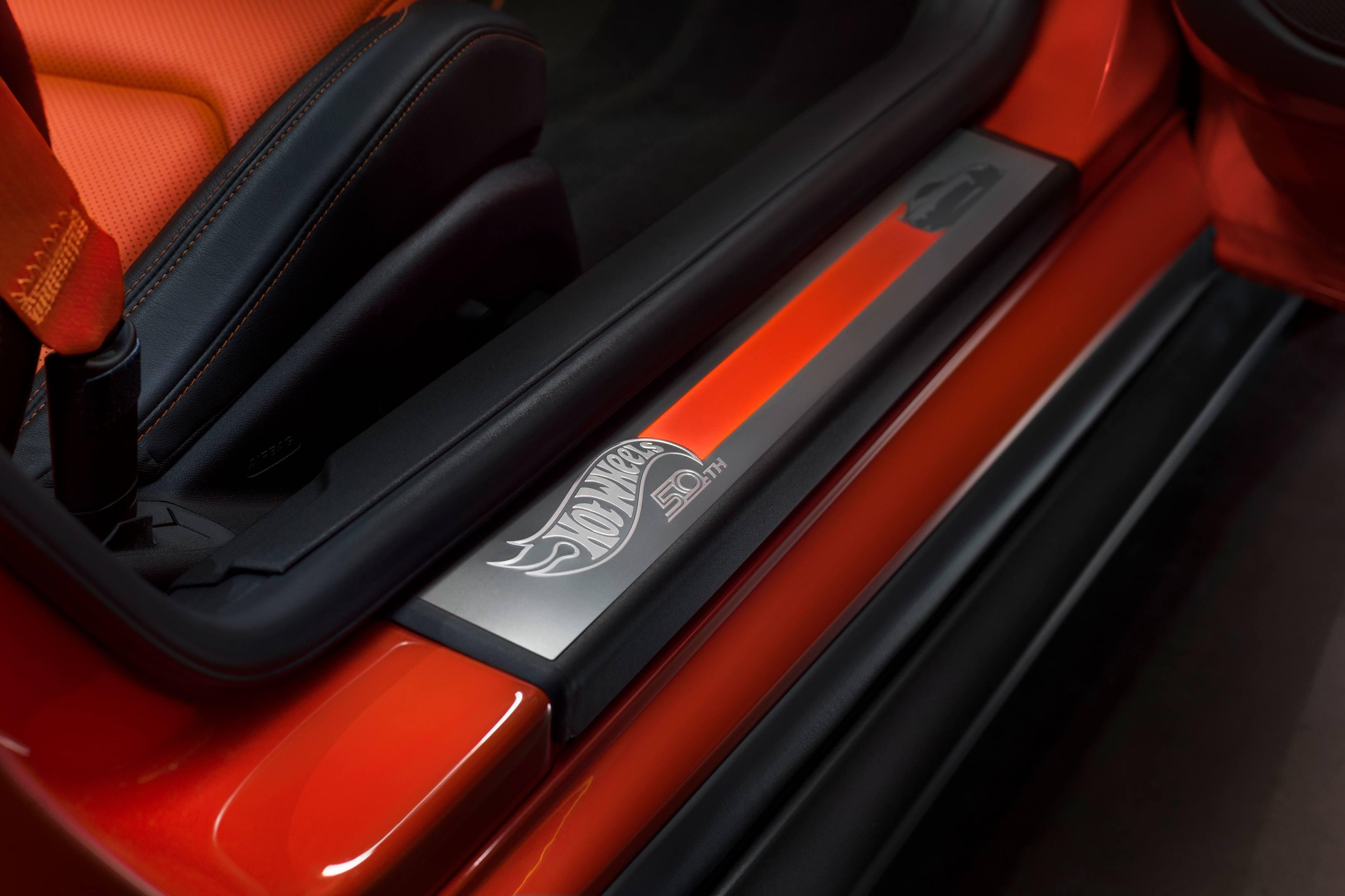 2017 SEMA Chevrolet Hot Wheels Camaro running board detail
