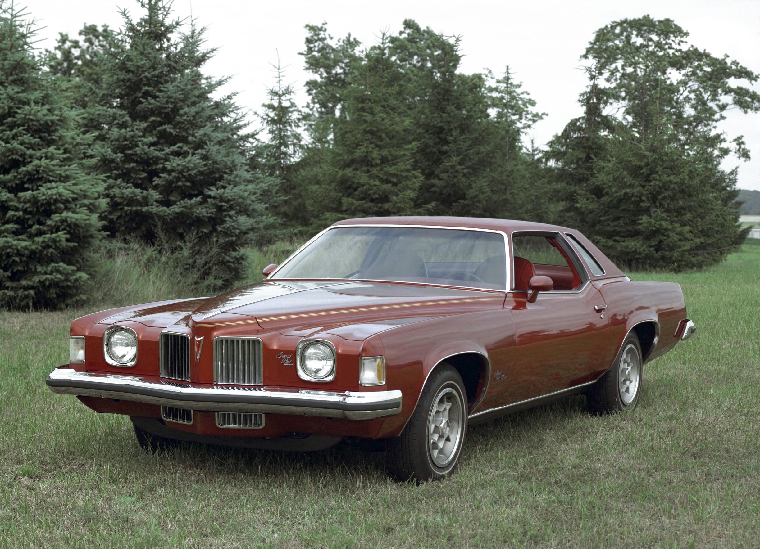 1973 pontiac grand prix front