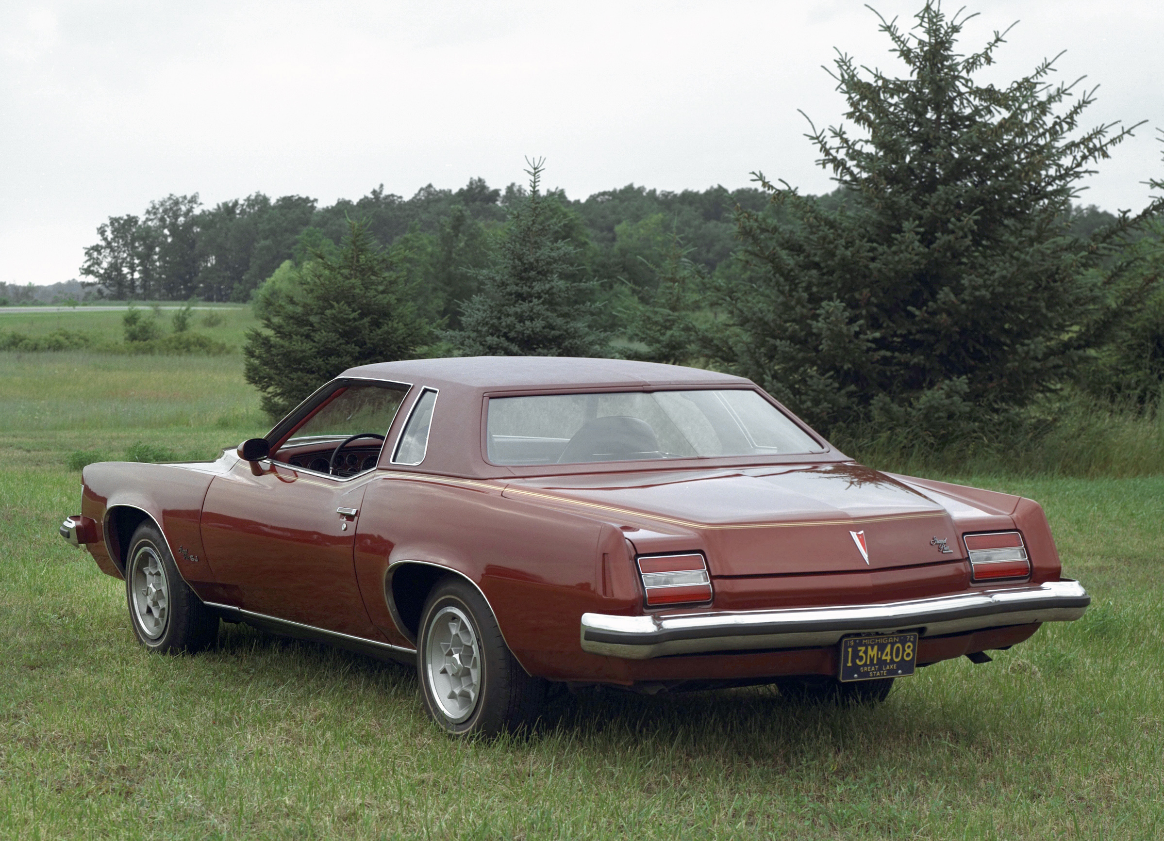 1973 pontiac grand prix rear