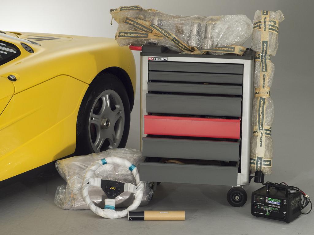 1997 McLaren F1 spare parts