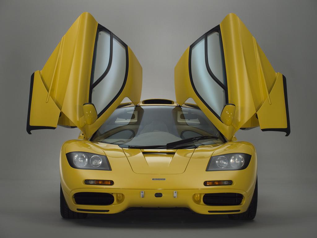 1997 McLaren F1 front doors up