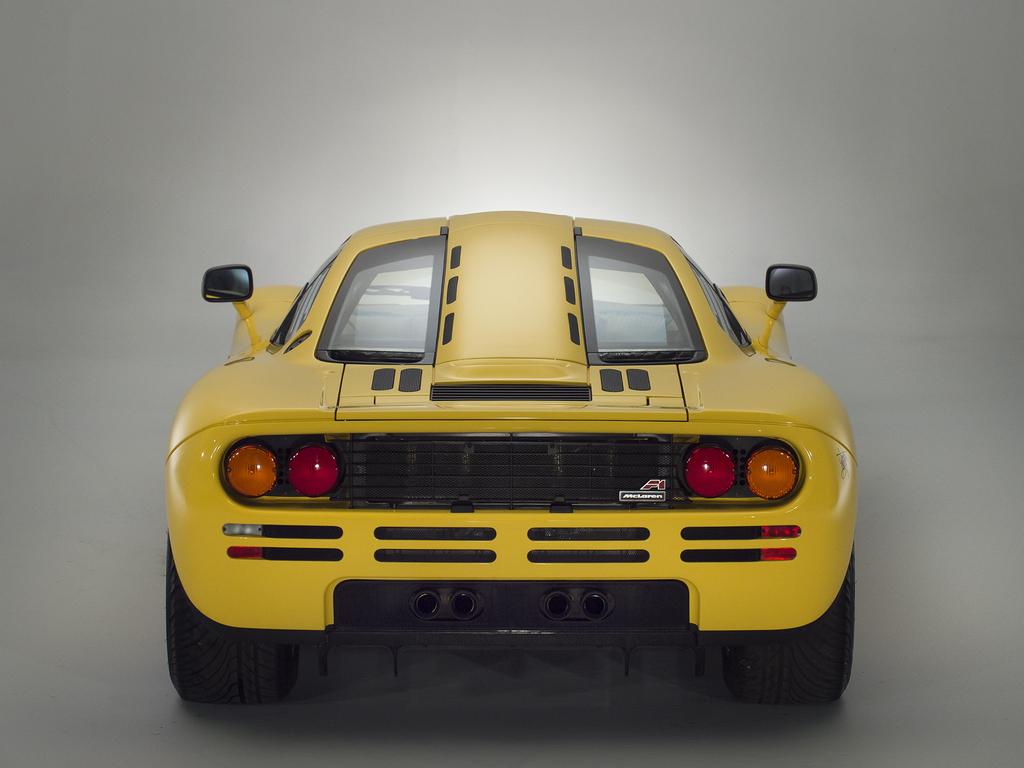 1997 McLaren F1 rear