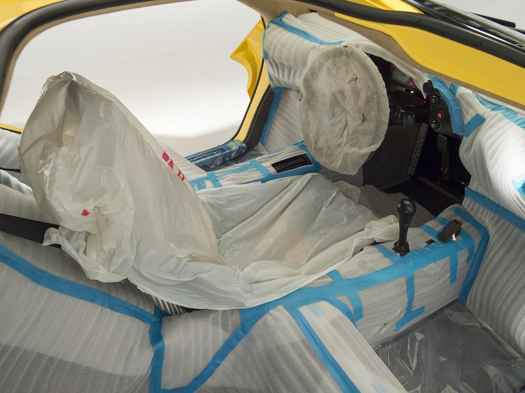 1997 McLaren F1 interior