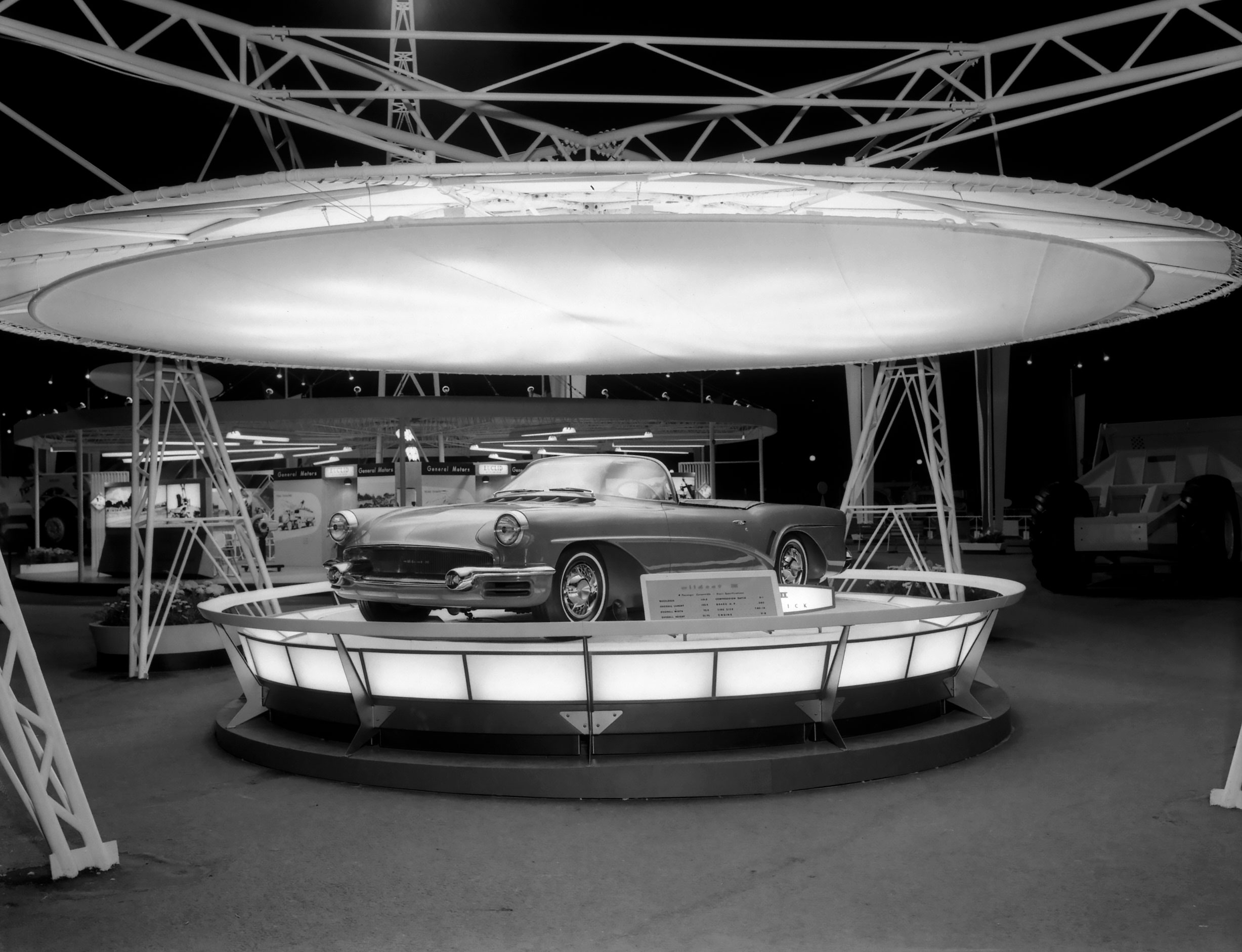 1955 Buick Wildcat III Concept design photo