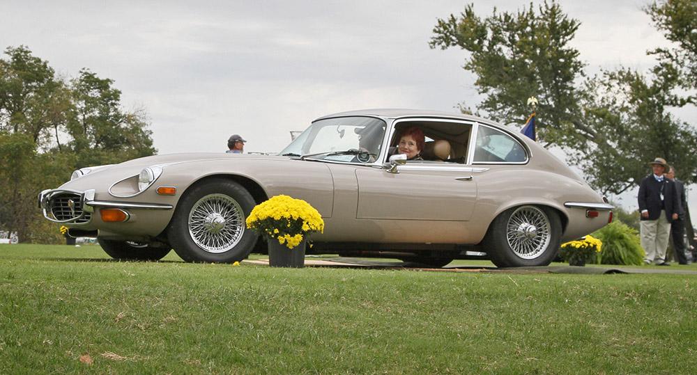 Carolyn Sikes' 1972 Jaguar E-Type 2+2