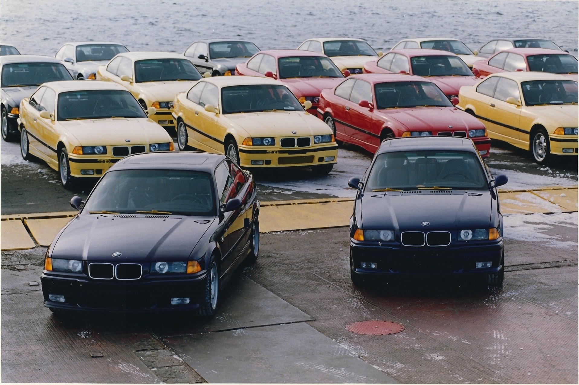 Canadian E36 M3 at Port