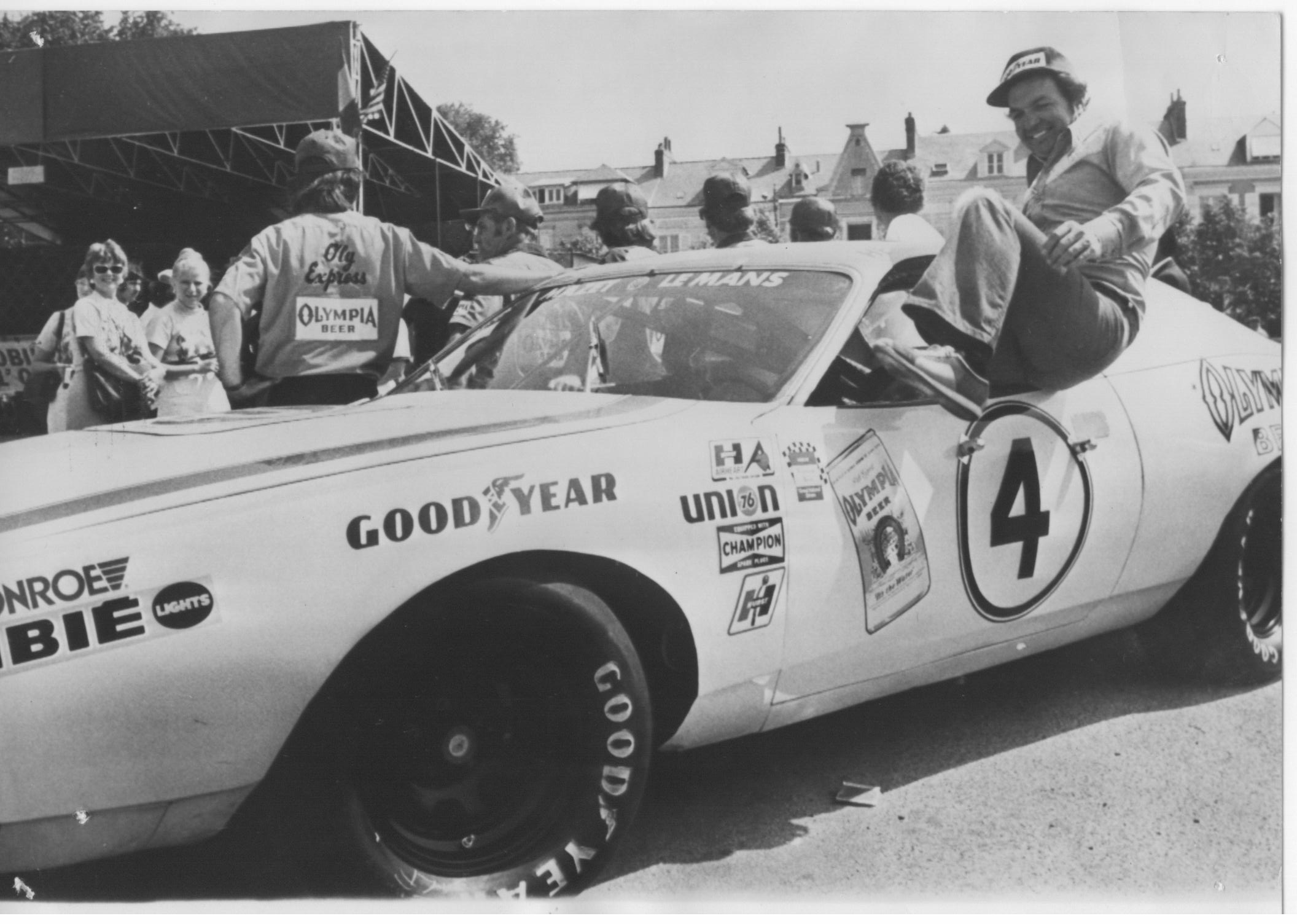 Hershel McGriff in the Charger