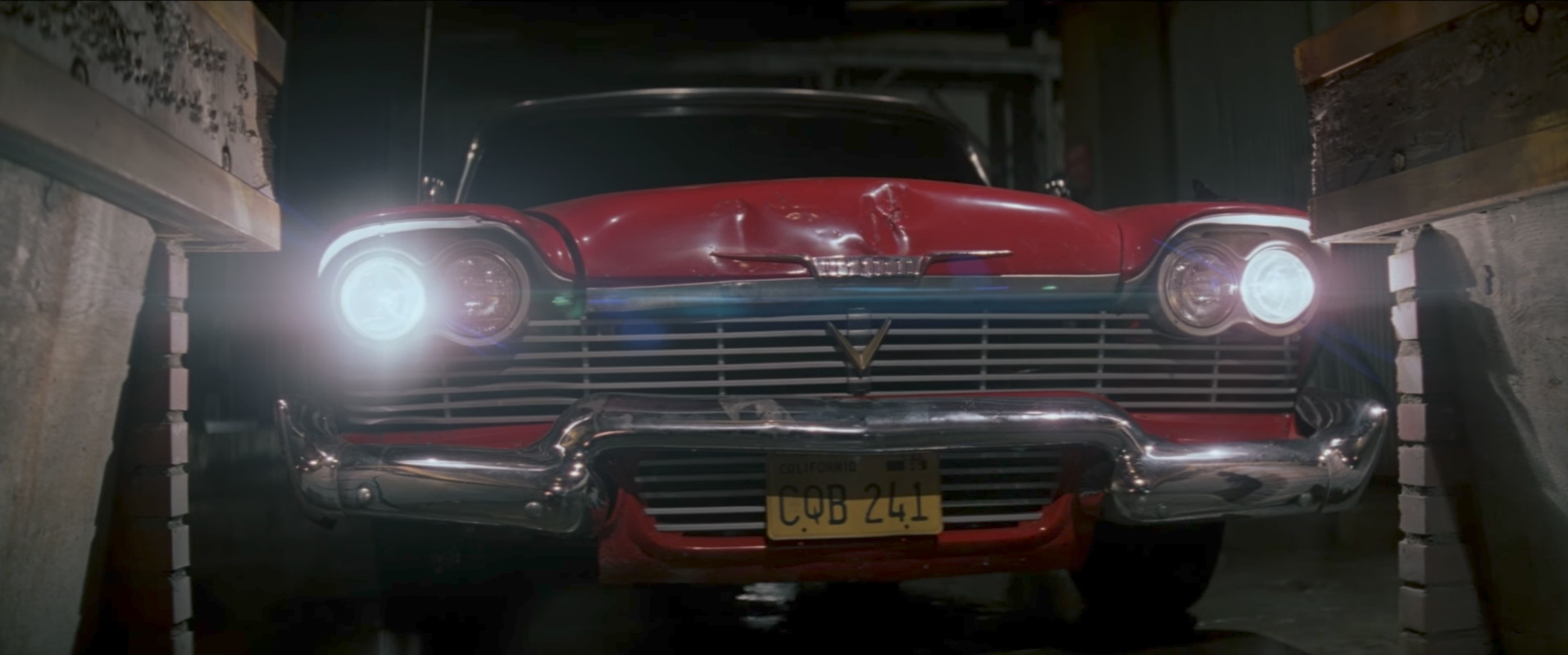 Christine the 1958 Plymouth Fury