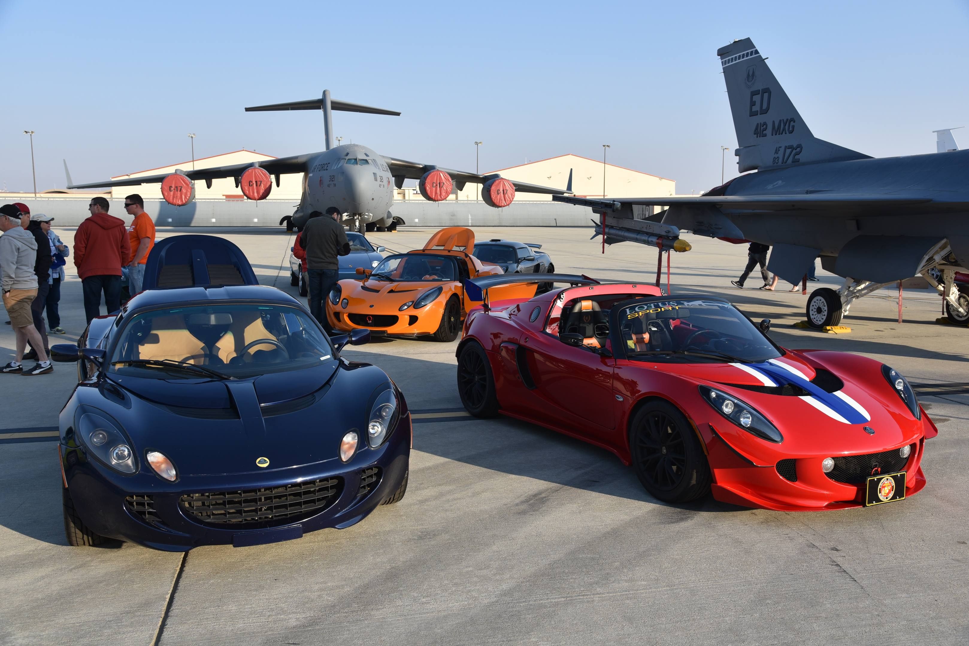 lotus exige edwards air force base