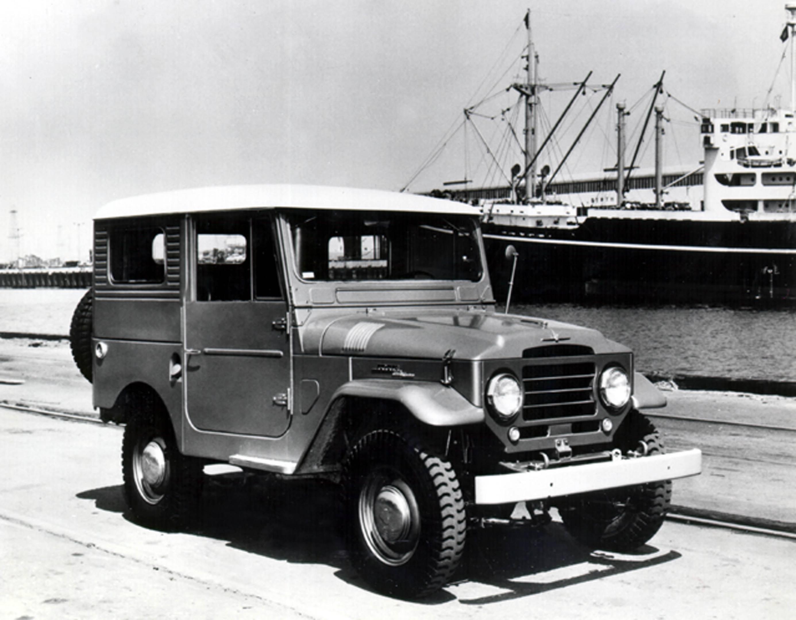 1960 Toyota FJ40 Land Cruiser