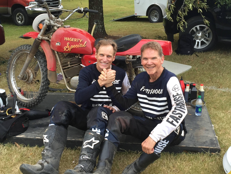 randy pobst john l stein barber rickman motorcycle