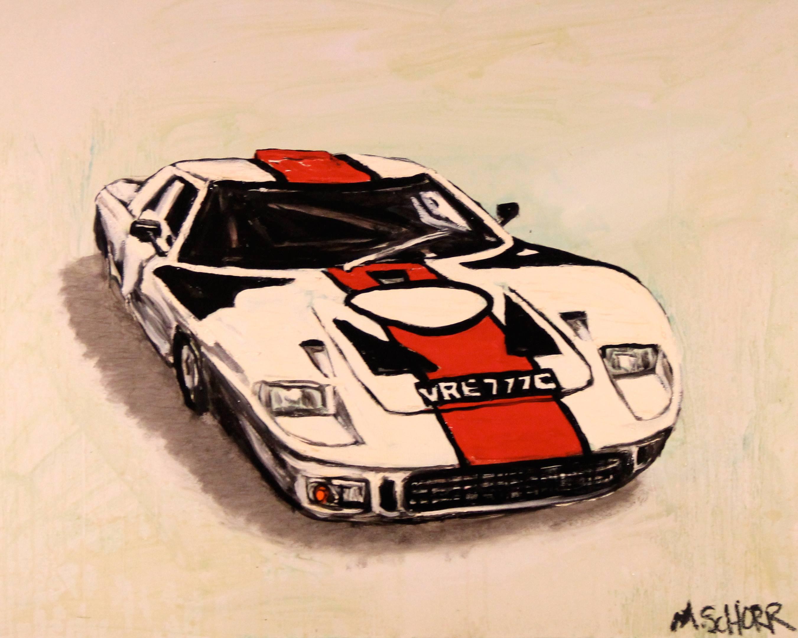 Mitchell Schorr Ford GT40