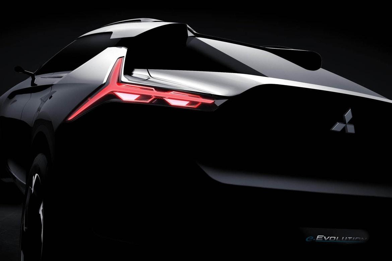 Mitsubishi Evo electric crossover concept