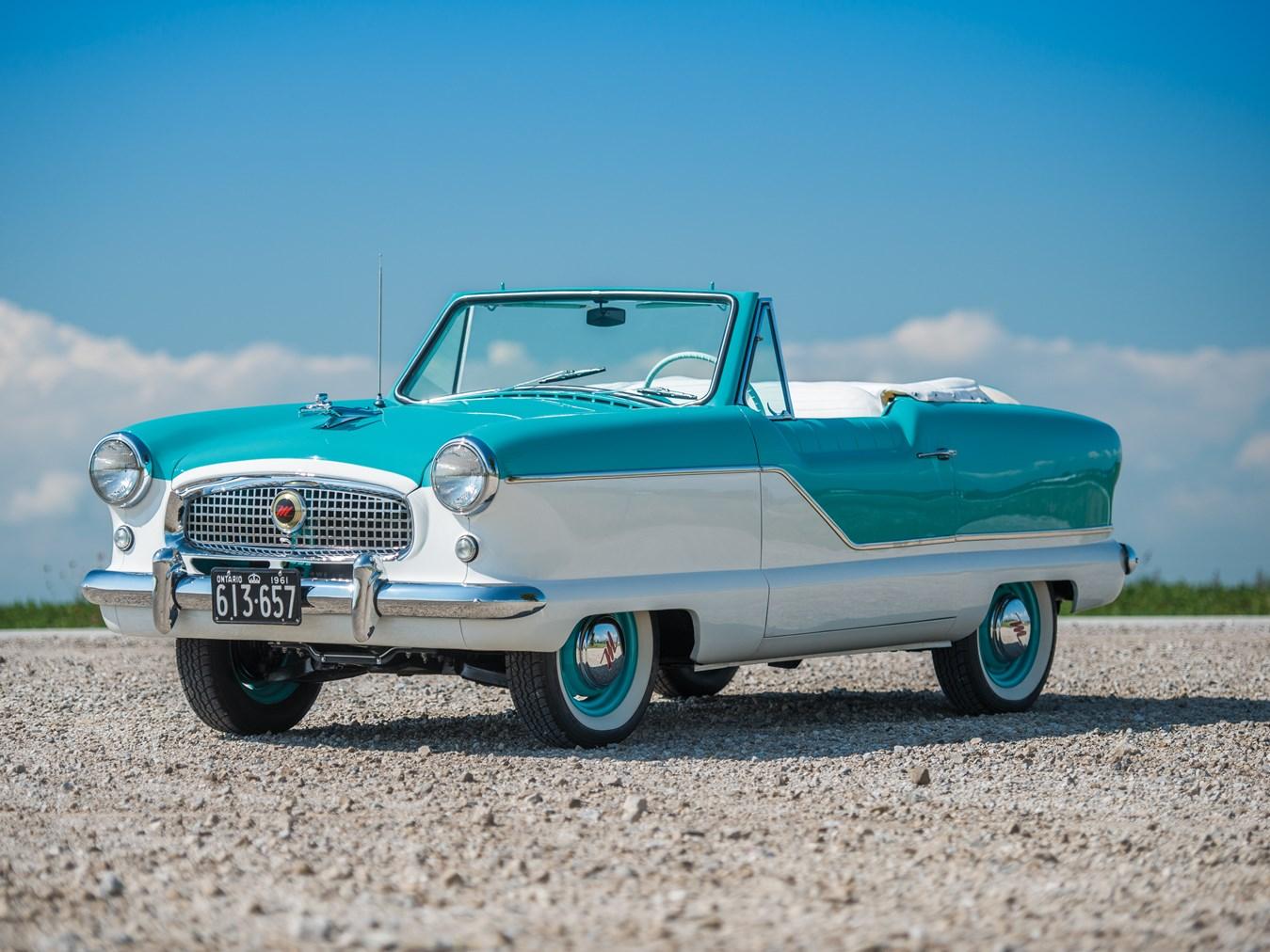 1961 AMC Metropolitan 1500 Convertible front 3/4