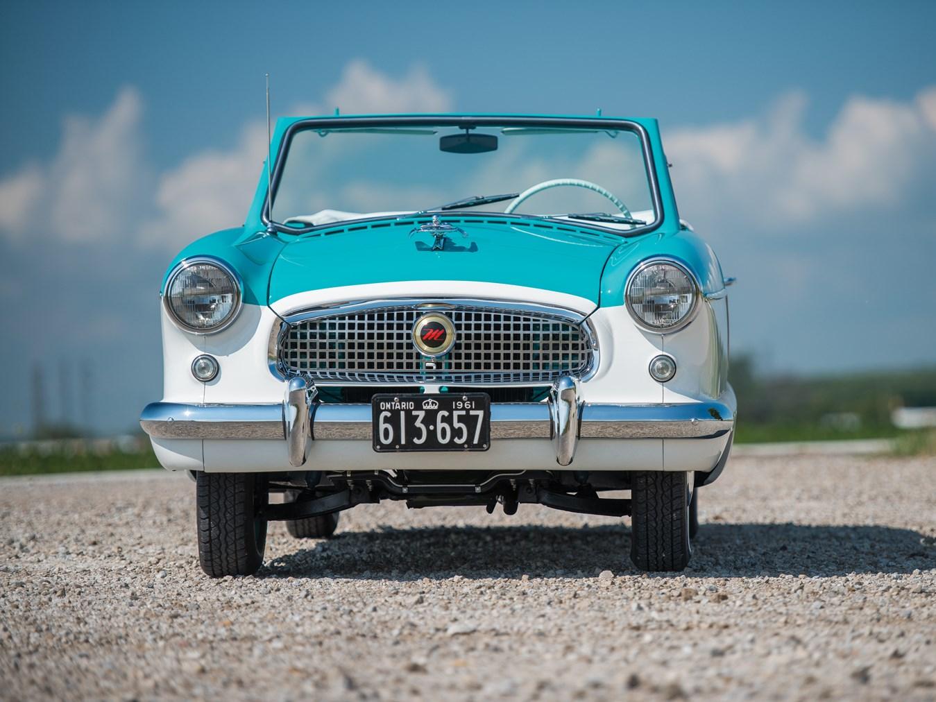 1961 AMC Metropolitan 1500 Convertible front