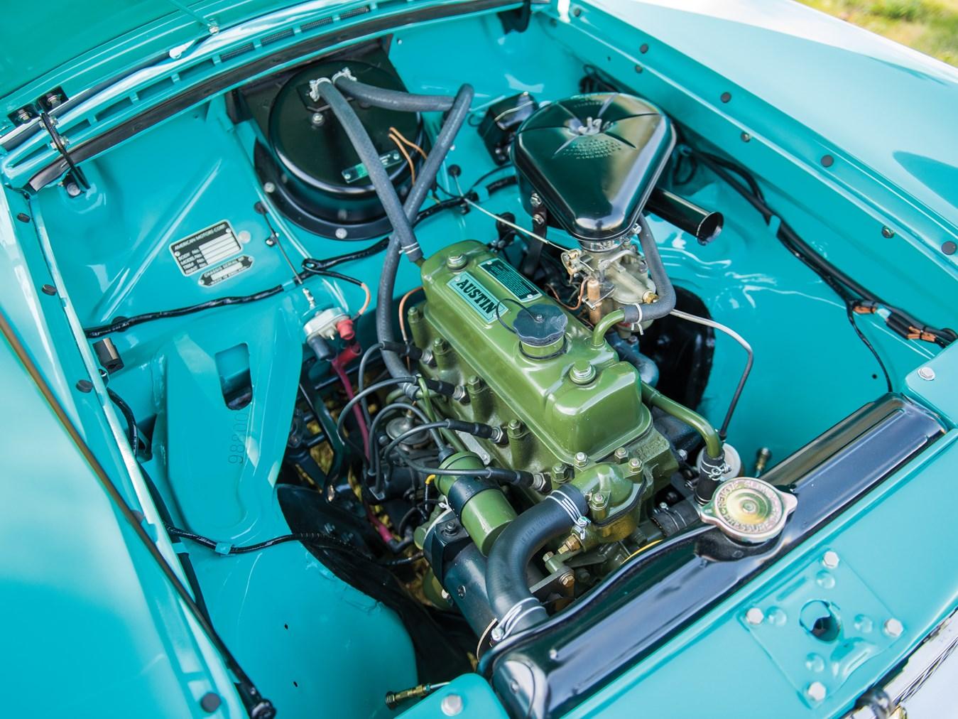 1961 AMC Metropolitan 1500 Convertible engine