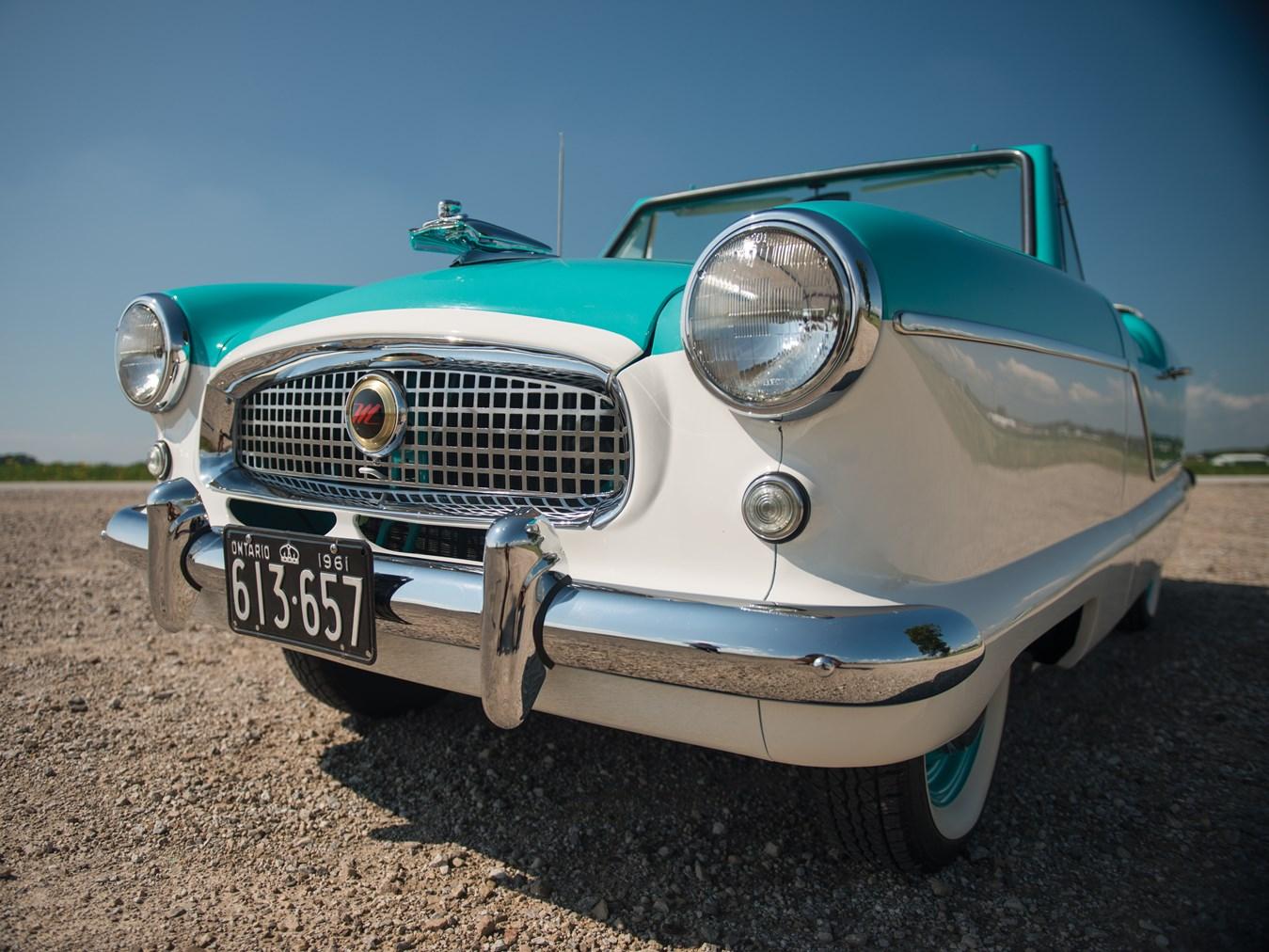 1961 AMC Metropolitan 1500 Convertible grille detail