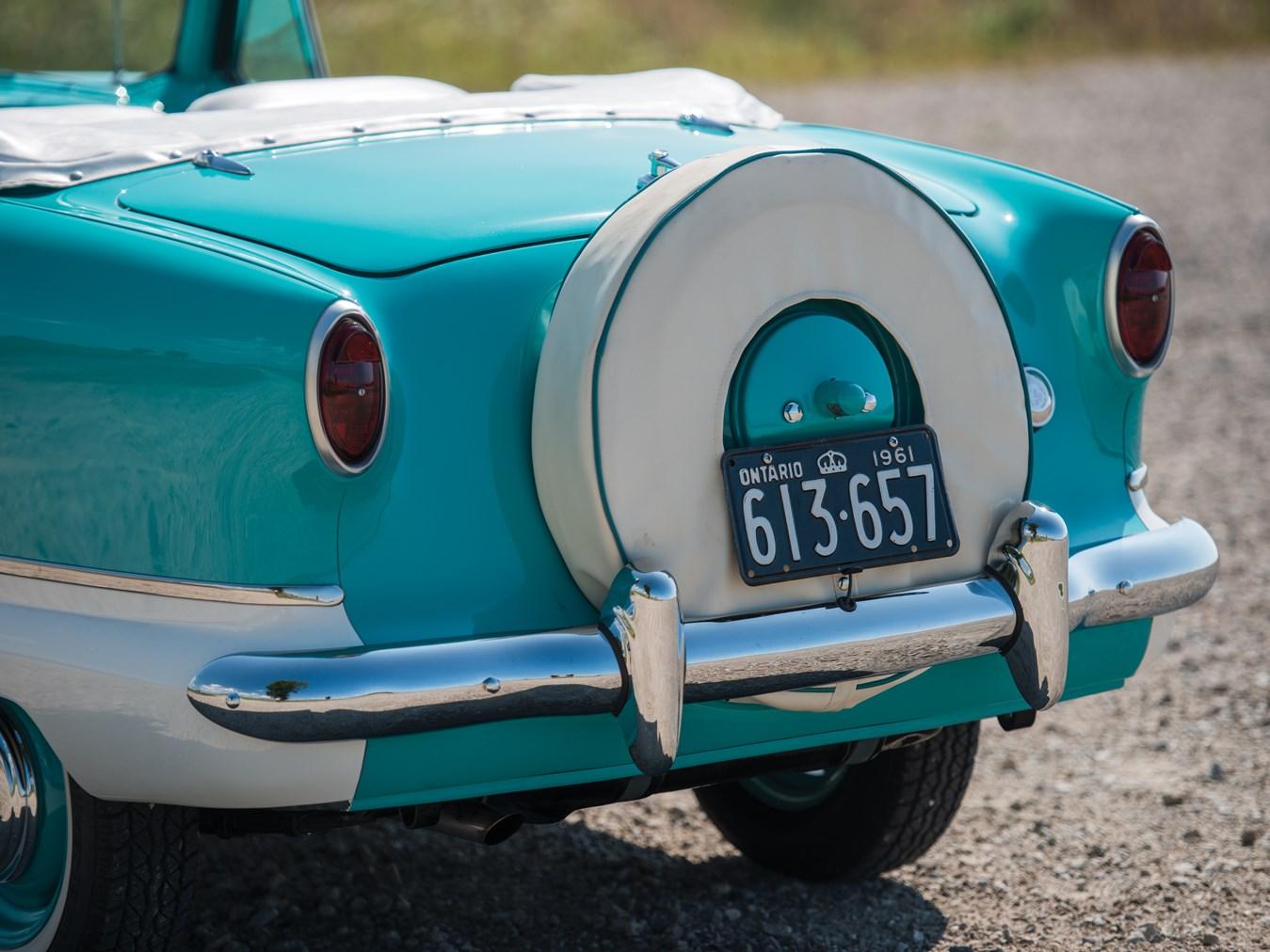 1961 AMC Metropolitan 1500 Convertible rear