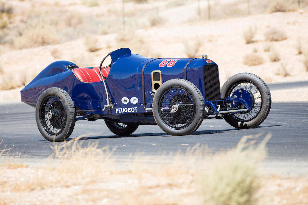 1914 Peugeot L45 Grand Prix profile
