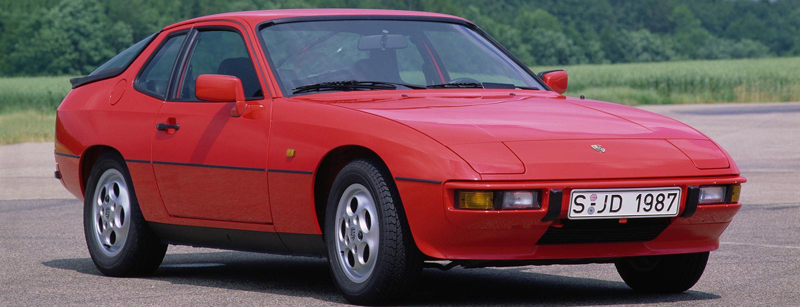 Porsche 924 front 3/4