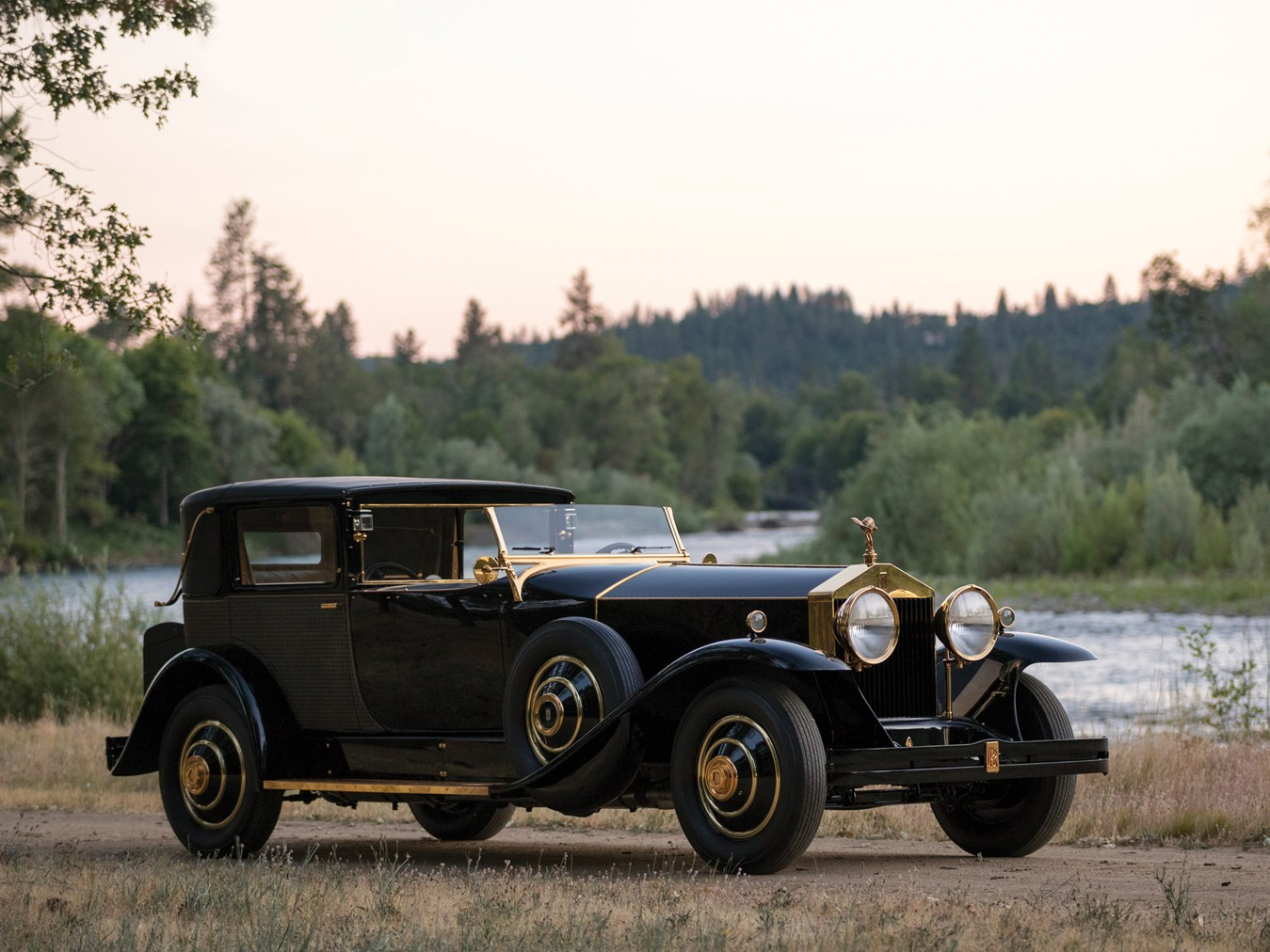 1929 Rolls-Royce Phantom I Riviera Town Car
