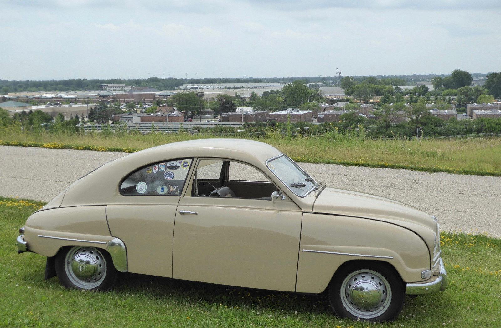 1959 Saab 93F profile
