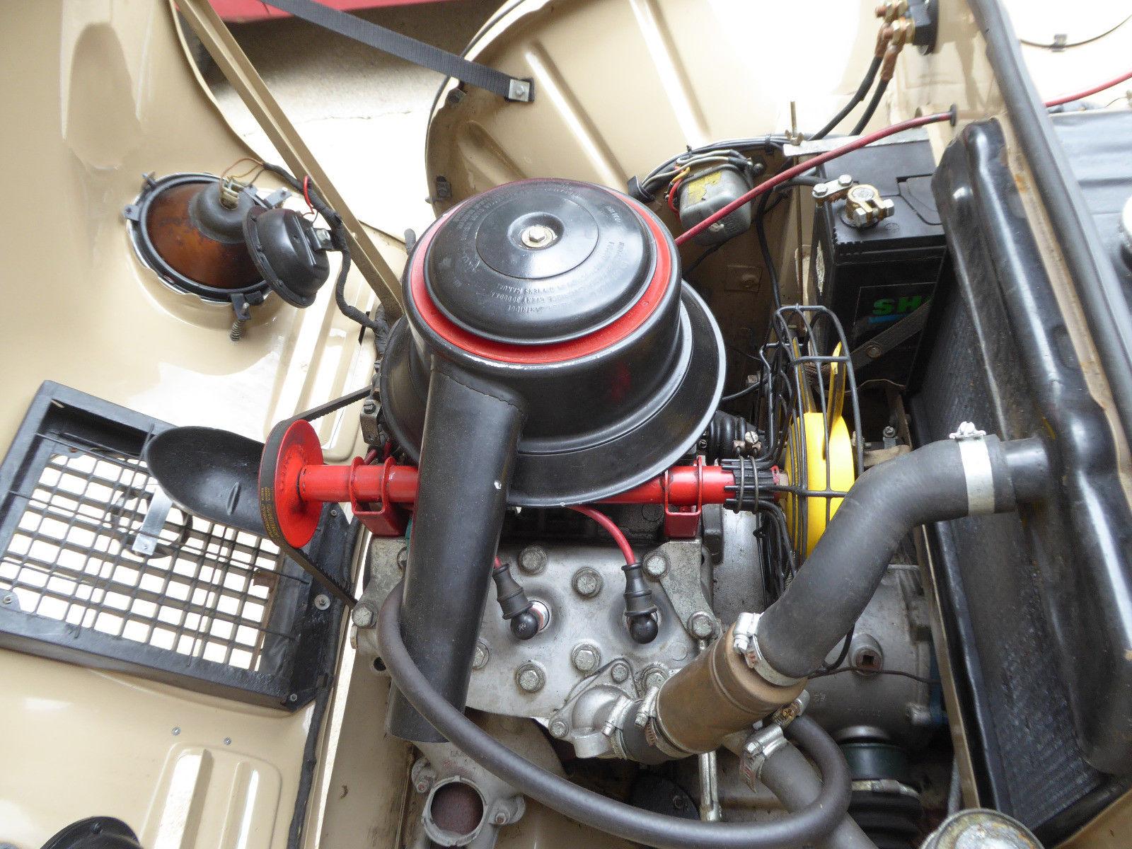 1959 Saab 93F engine