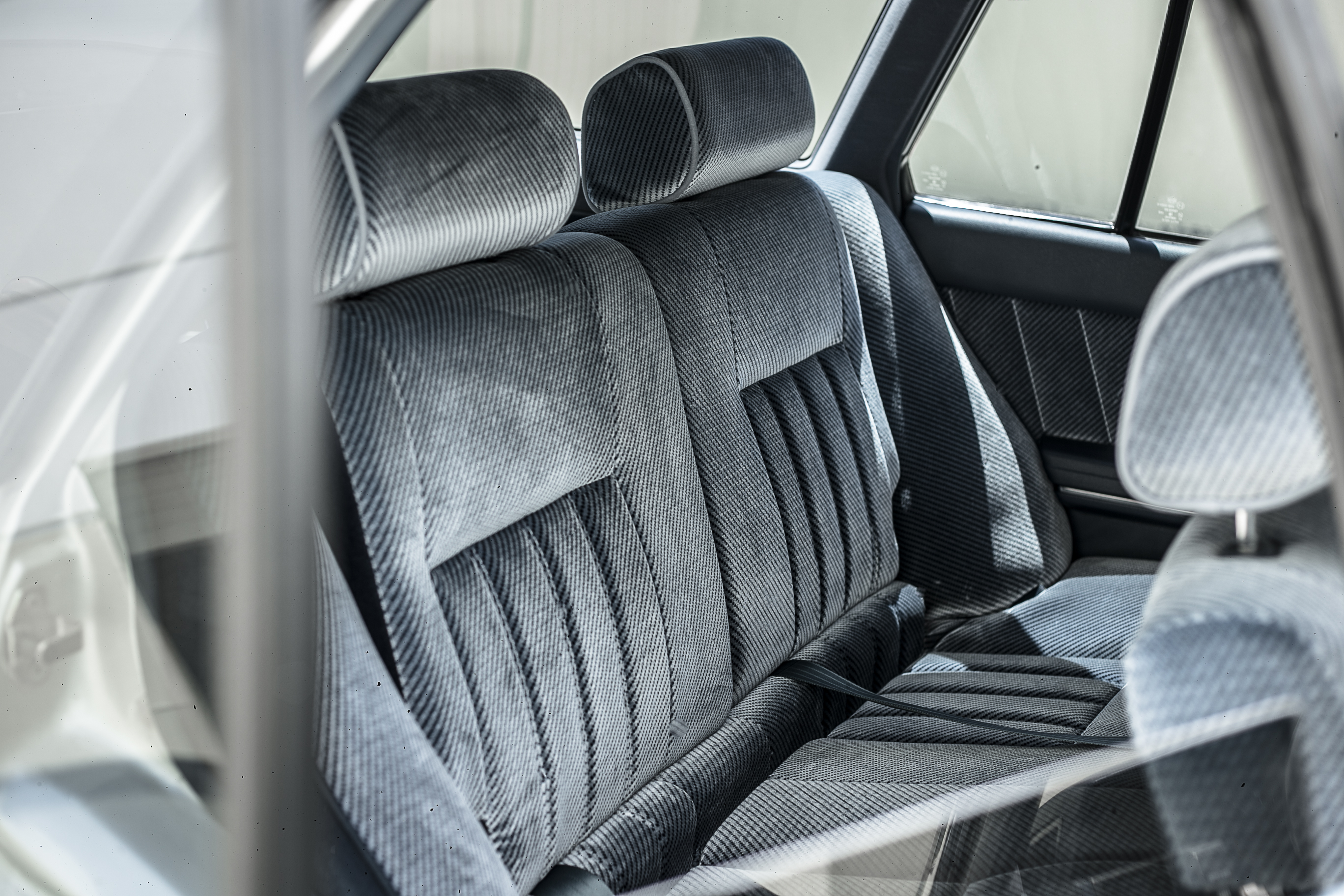 Nissan R31 Skyline turbo wagon back seat