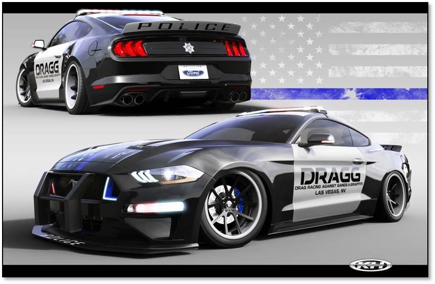 2018 DRAGG Mustang