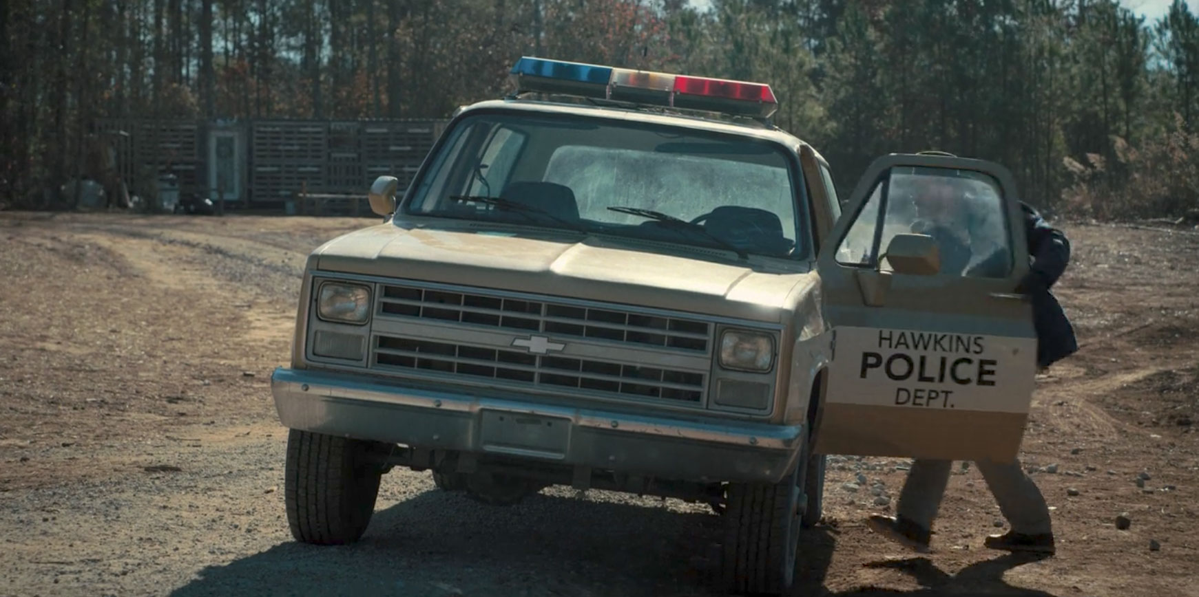 Hopper's 1980 Chevrolet K5 Blazer in Stranger Things