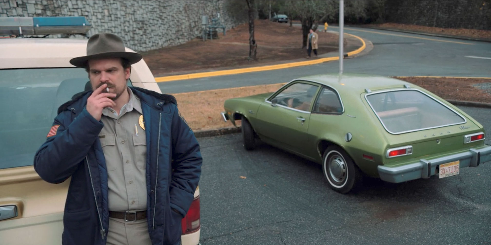 1976 Ford Pinto in Stranger Things