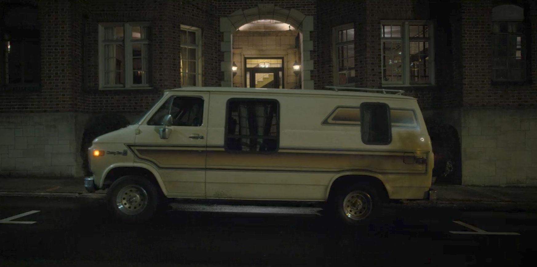 1981-82 Chevrolet Van in Stranger Things