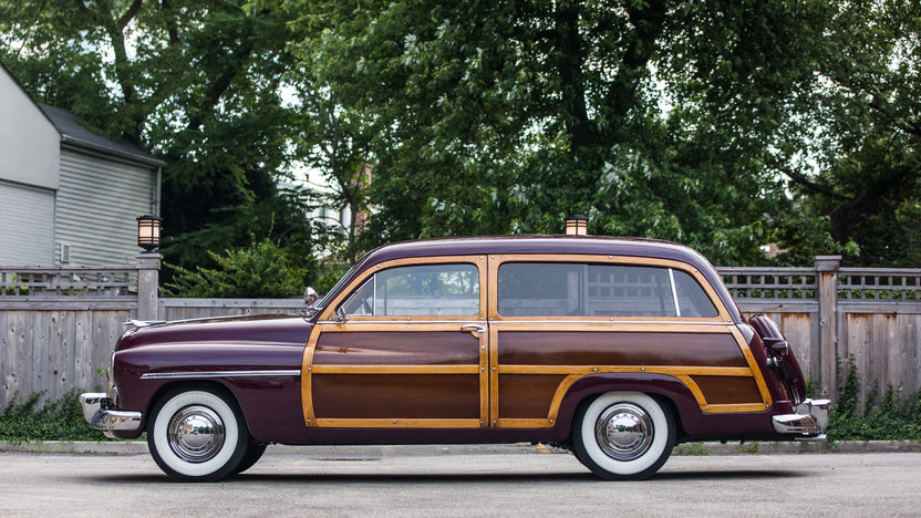 1949 Mercury Woody Wagon profile