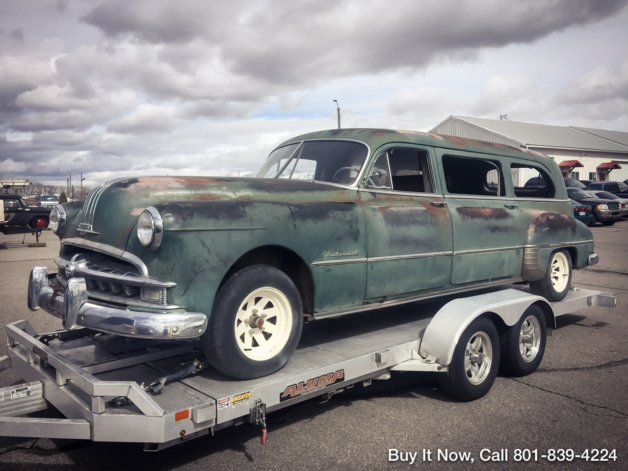 1949 Pontiac Chieftain Deluxe hearse