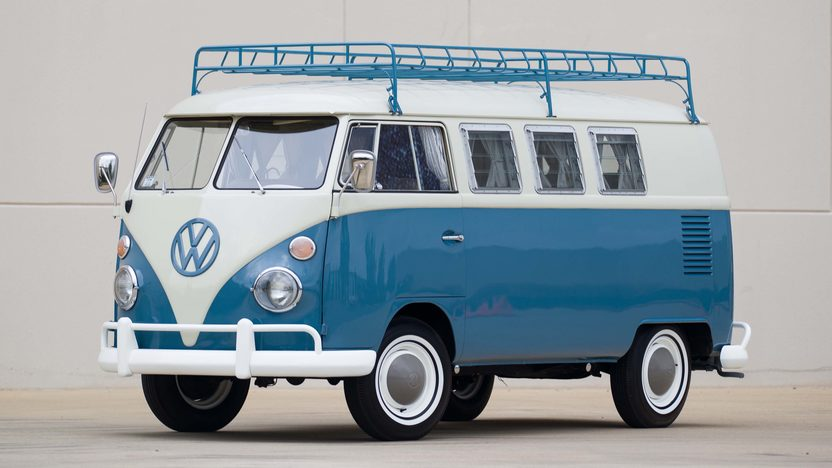 1965 Volkswagen Westfalia front three quarter